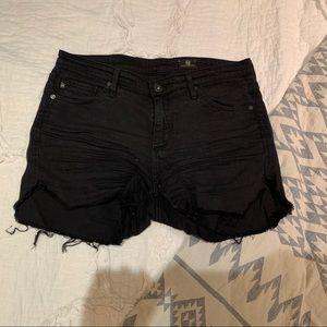 AG Jeans Black Jean Shorts